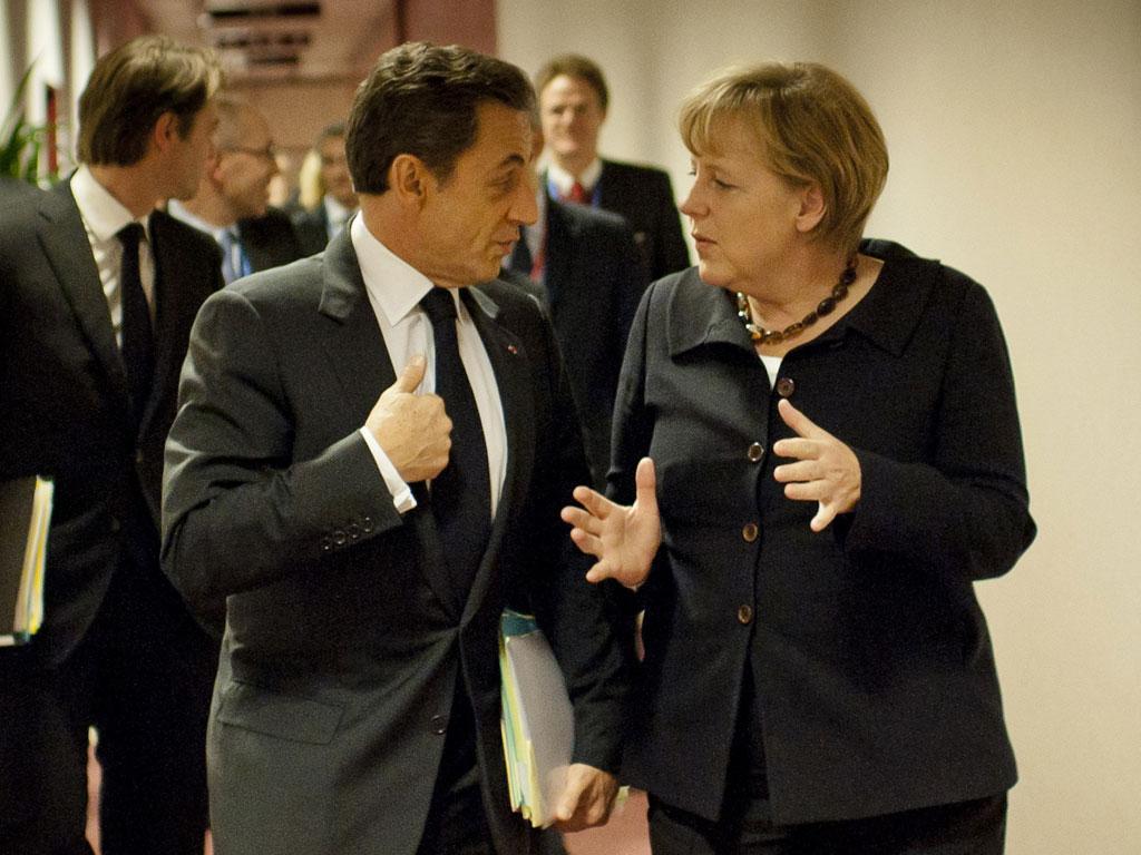 While Nicolas Sarkozy and Angela Merkel attempt to resolve the European debt crisis, David Cameron has been disdainfully attacking the euro