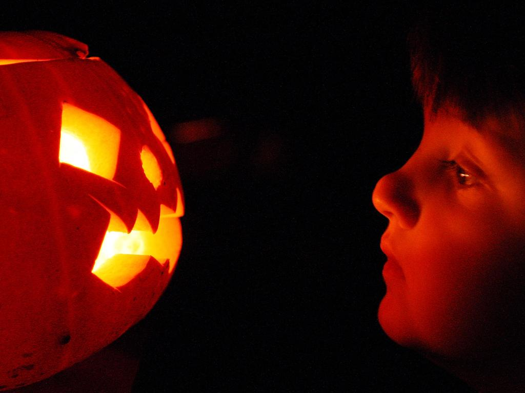 We may think of Hallowe'en as an American celebration, but the popularity of the pumpkin - ideal for carving into frightening lanterns - has surged in the UK