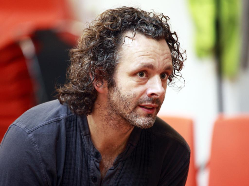Michael Sheen in rehearsal for the Young Vic's Hamlet awaits audience reaction
