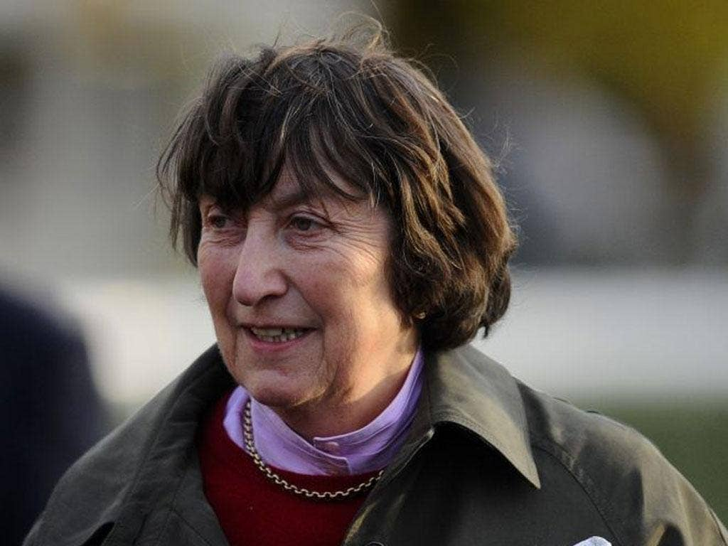 Henrietta Knight: The trainer saw Somersby enjoy a first success for nearly two years at Kempton