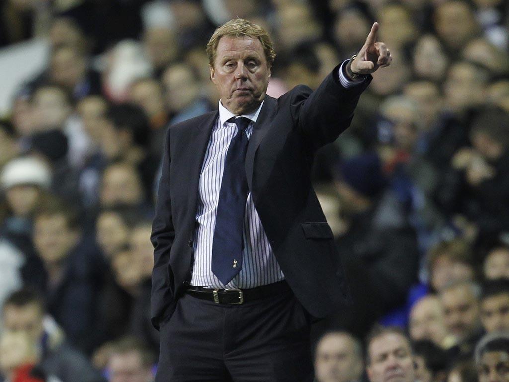 Redknapp will miss Tottenham's Europa League trip to Russia