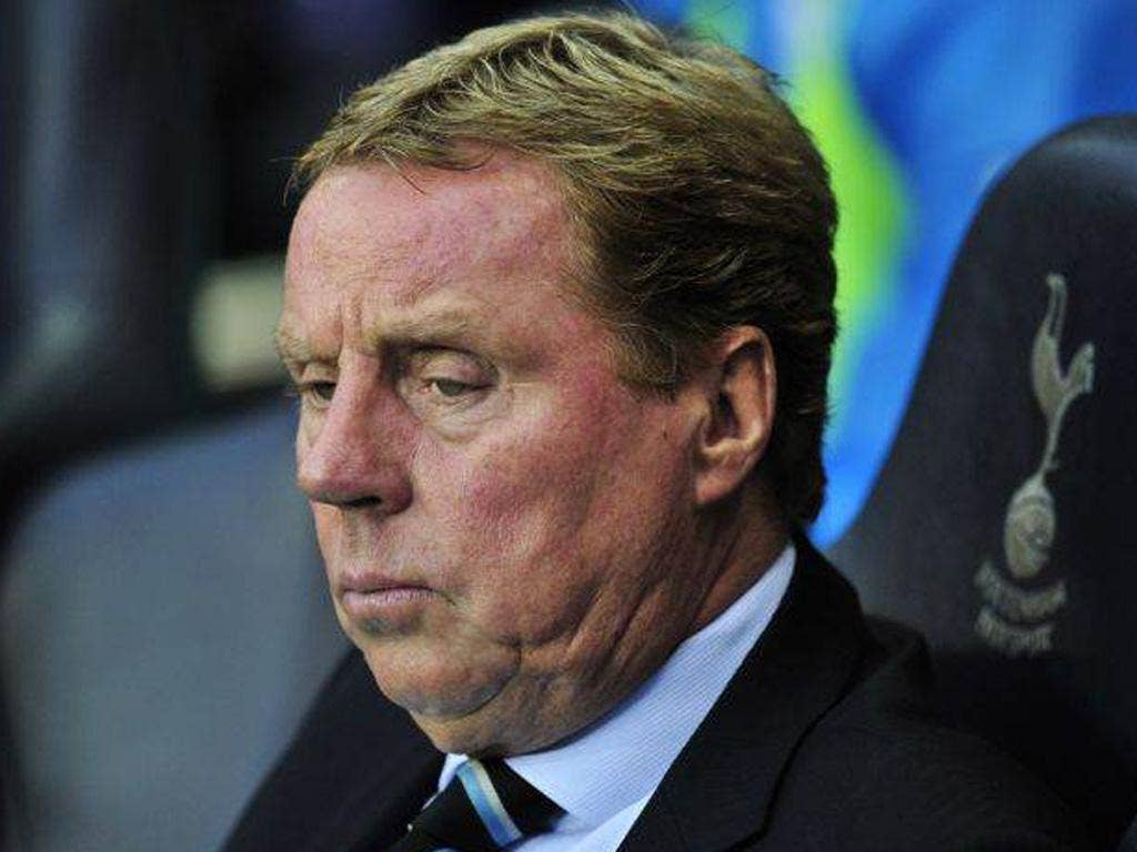 Spurs' manager Harry Redknapp said he was fine and hopes to be back at work 'in a couple of days'