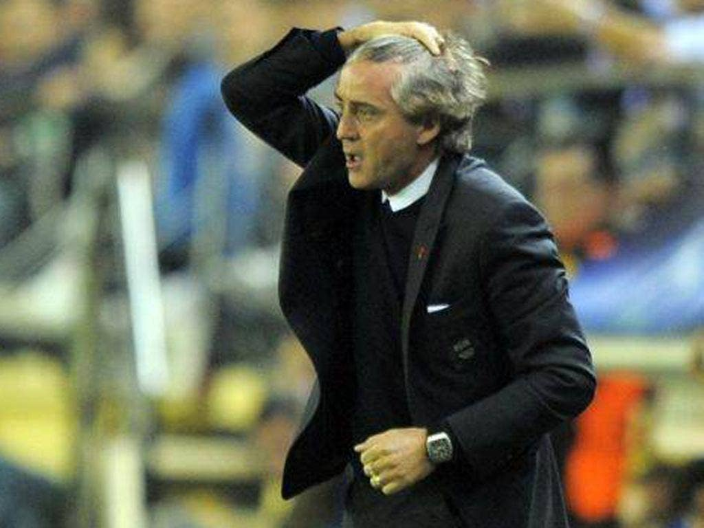 Roberto Mancini received the gift he most craved
