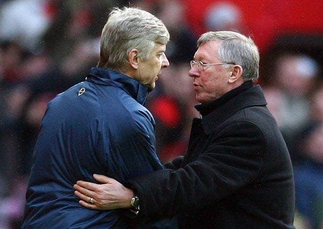 Wenger and Ferguson's cold relationship has thawed in recent years