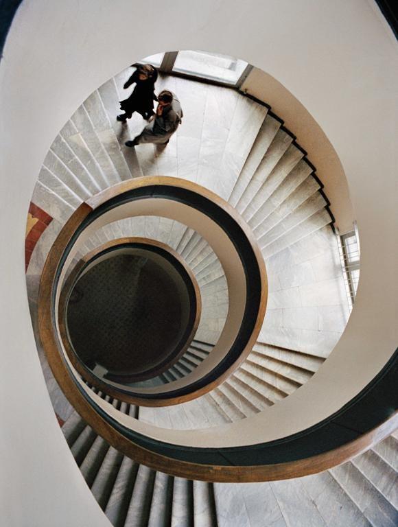 The Chekist Housing Scheme stairwell