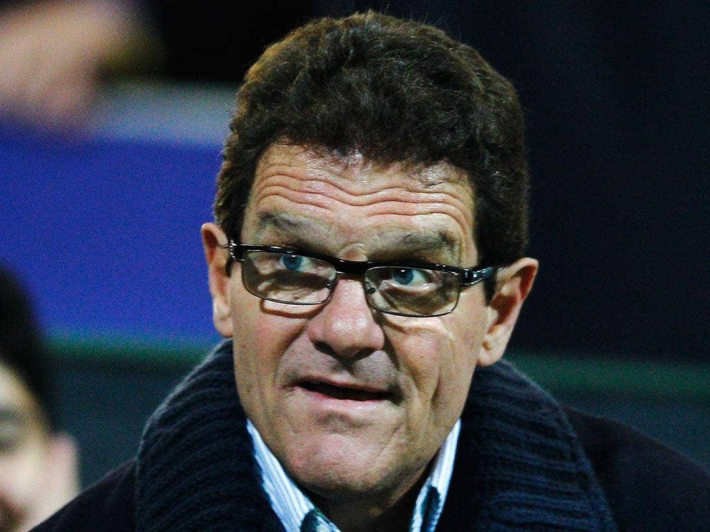 Fabio Capello, the manager has one last shot at redemption in the European Championship