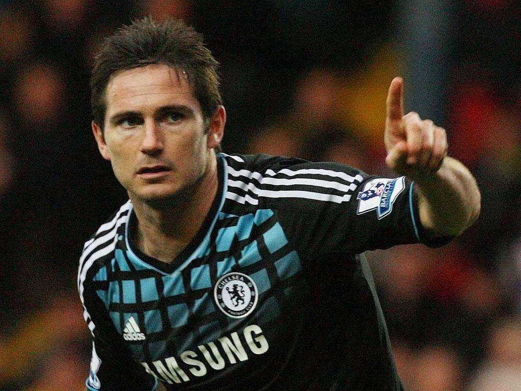 Lampard, the midfielder, scored the winner and said 'we have to go on a run of wins'