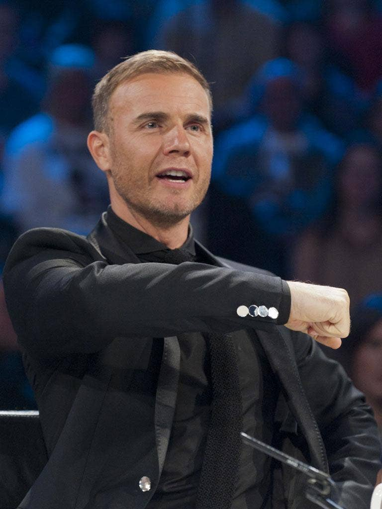Gary Barlow and his fellow judges had a busy night on 'The X Factor'