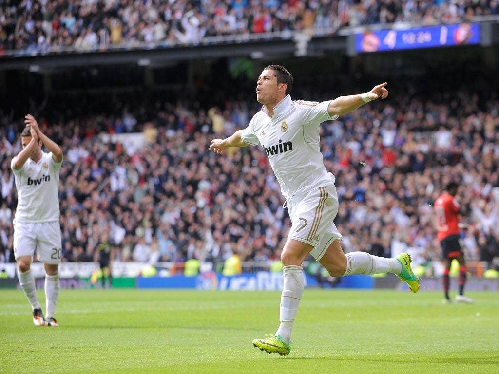 Ronaldo made it four hat-tricks in 11 games for Real Madrid
