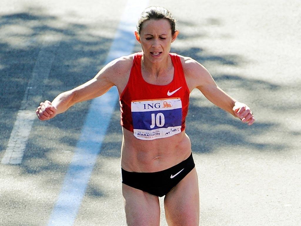 Jo Pavey finished ninth in New York