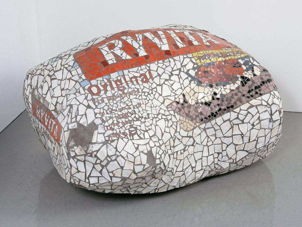 Alex Frost's 'Adult (Ryvita/Crackerbread)' (2007)
