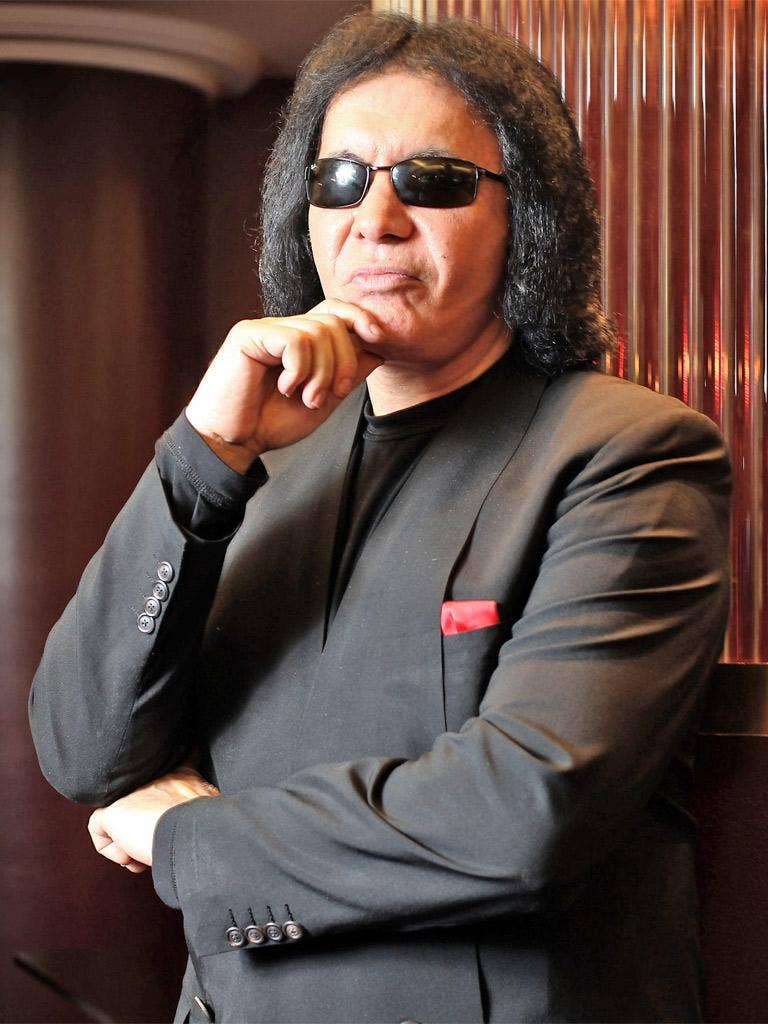 Gene Simmons pioneered the 'band as brand' philosophy in the US