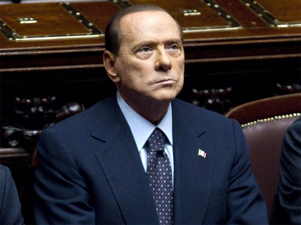 Most experts consider it extremely improbable that Berlusconi could seek to go back on his commitment