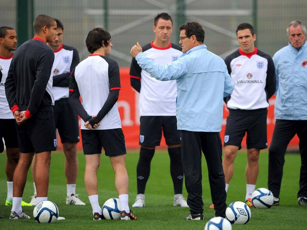 Jagielka was the only absentee from training today