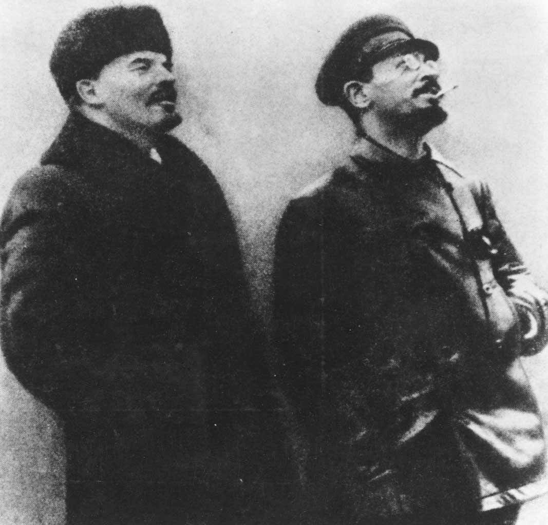 Comrade capitalists? Vladimir Ilyich Lenin and Leon Trotsky