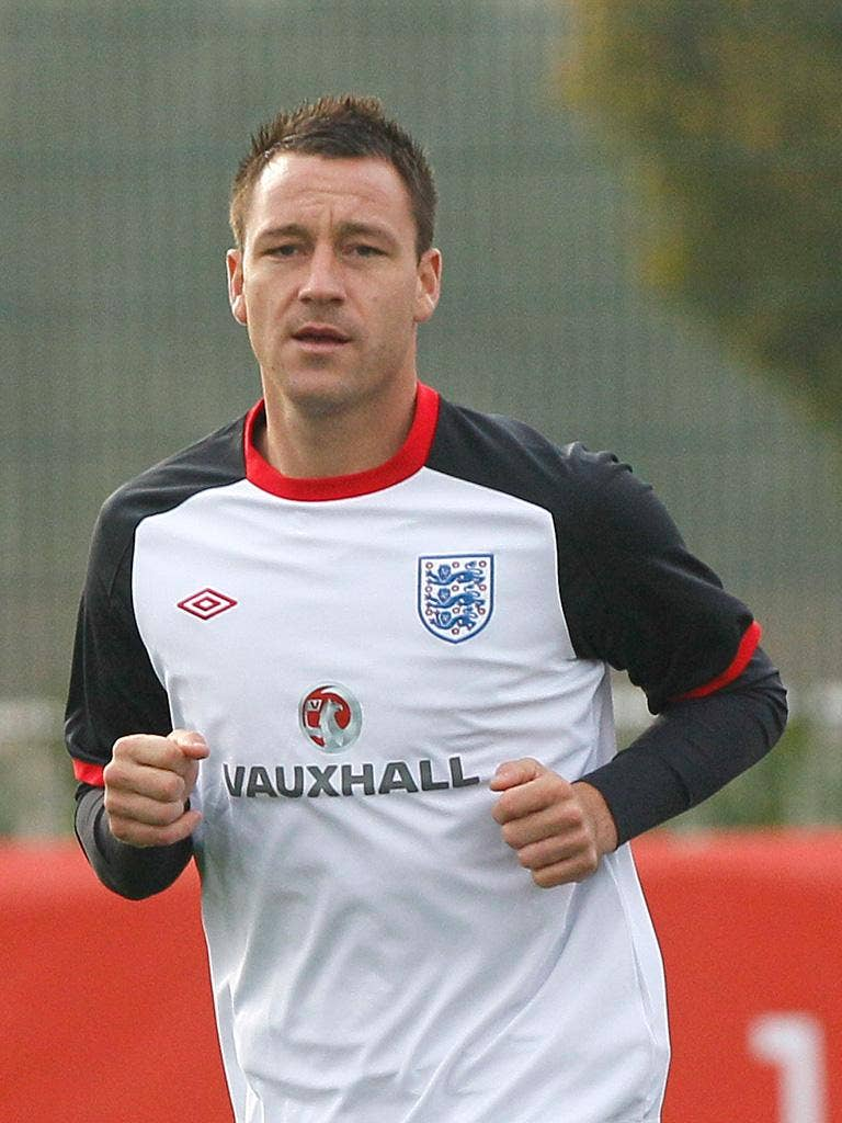 John Terry: 'He is our captain, he's a great leader,' says United's Phil Jones