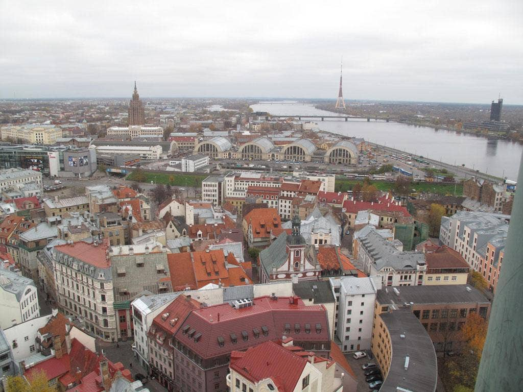 Red or bed: Simon Calder mislays his Latvian let in Riga
