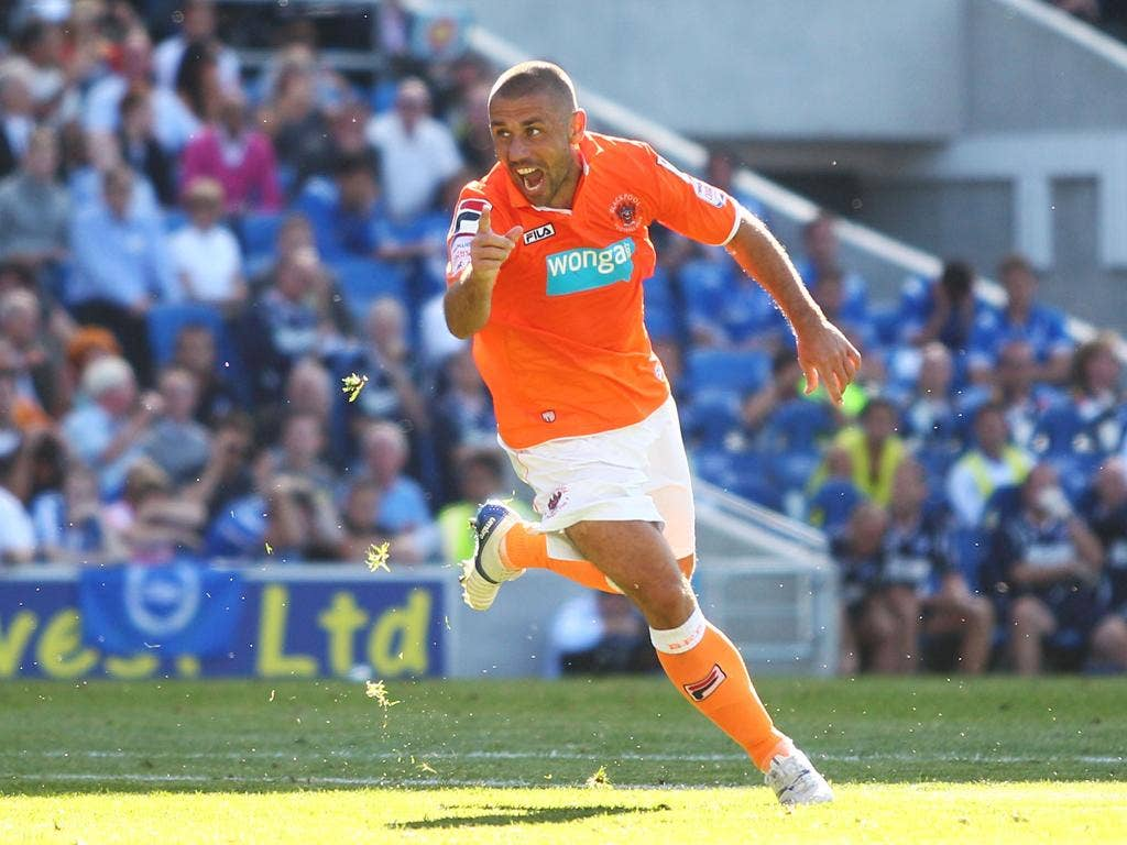 Kevin Phillips at 38 is top scorer for us at Blackpool this season and there wasn't a flicker of complaint when I left him out for a couple of games