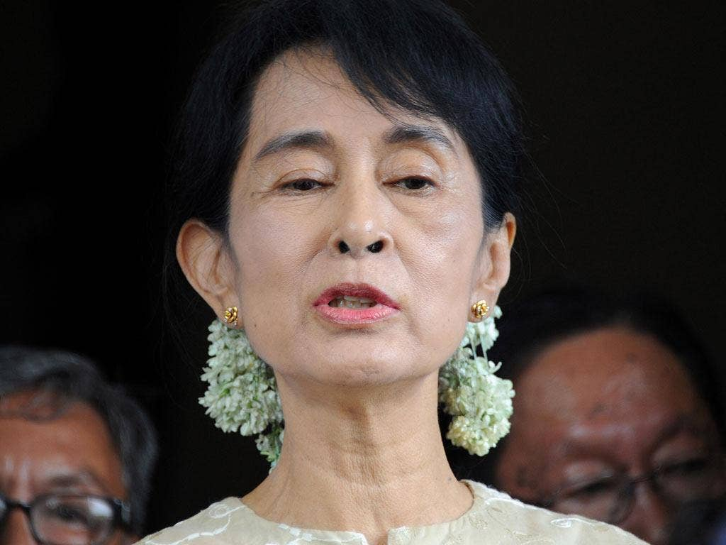 Aung San Suu Kyi spent 15 of the past 22 years under house arrest