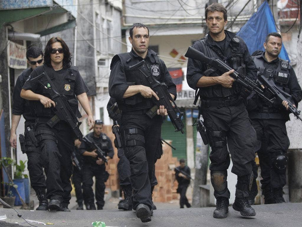 Police took control of the notorious Rocinha slum in Rio without as hot being fired