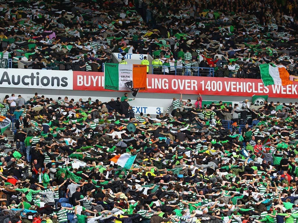 Chants from Celtic fans related to the IRA