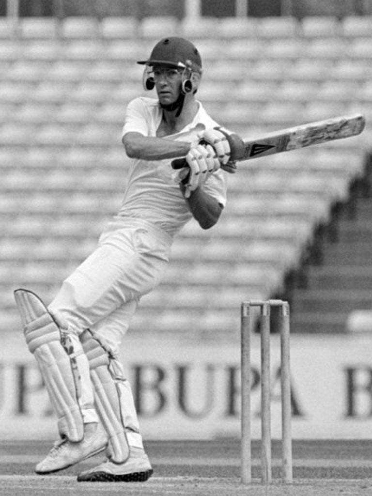 Roebuck in action for Somerset