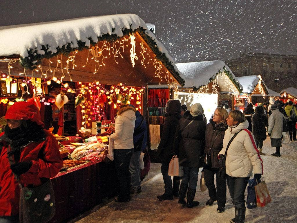 European cities are putting up their wooden huts, unfurling the fairy lights and hanging up the wreaths
