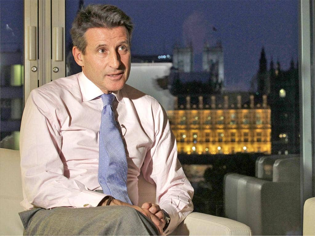 London committee chairman Sebastian Coe
