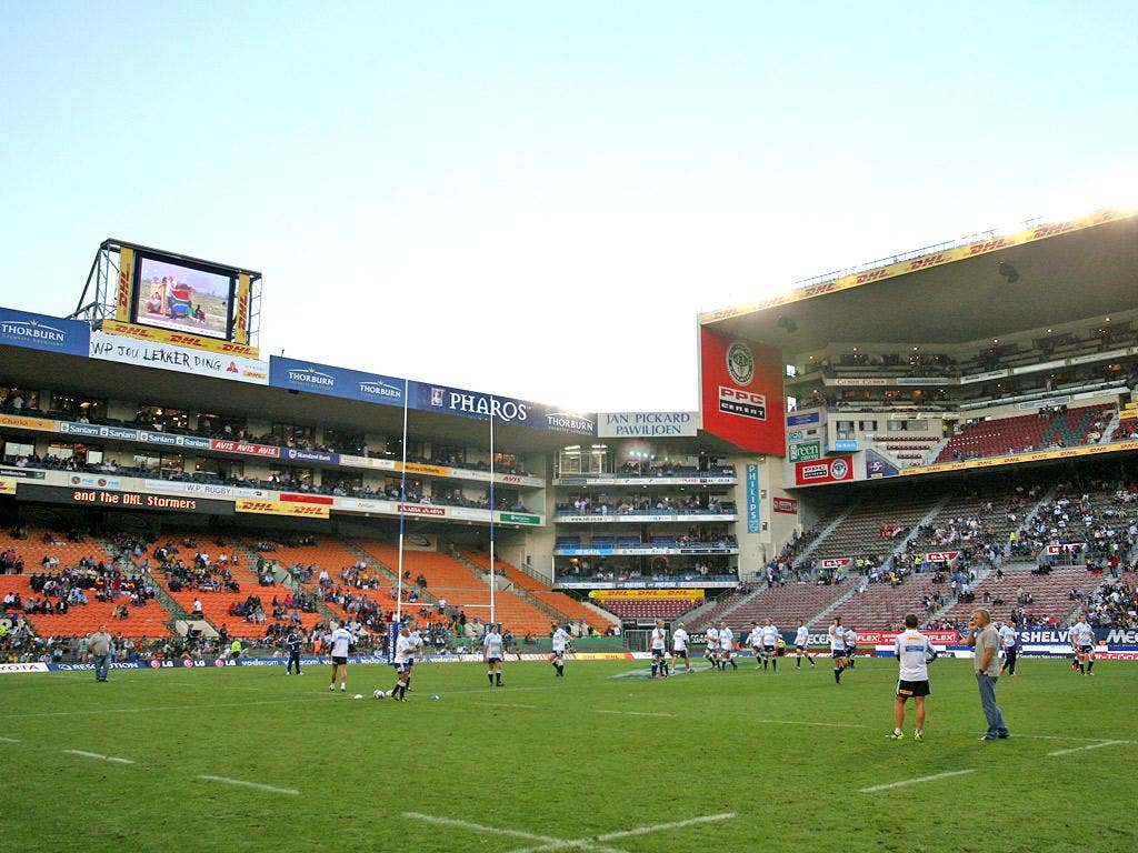 Newlands has a crowd capacity of 45,000