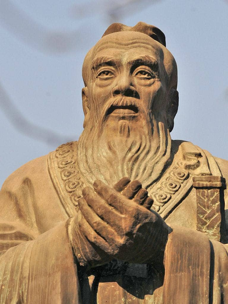 The Confucius prize judges cited Putin's crushing of the Chechens