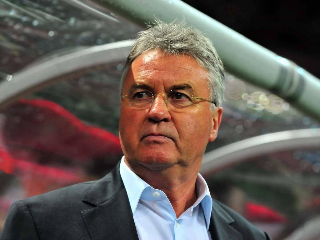 Guus Hiddink was unable to take Turkey to Euro 2012