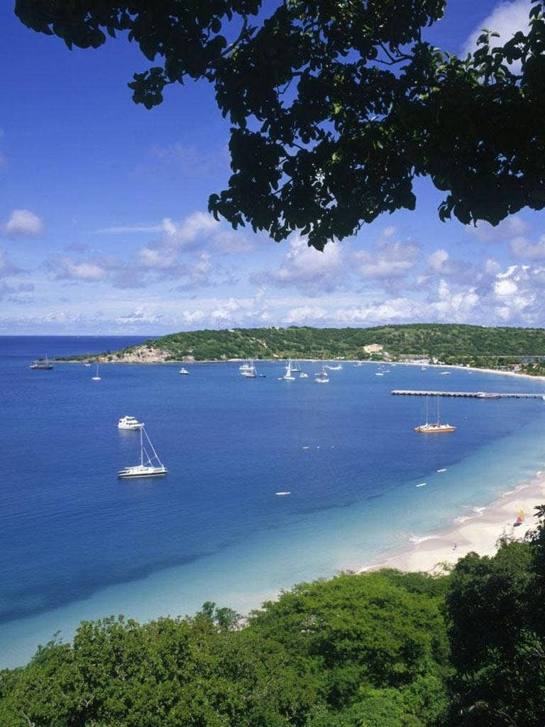 The tiny island of Anguilla in the eastern Caribbean