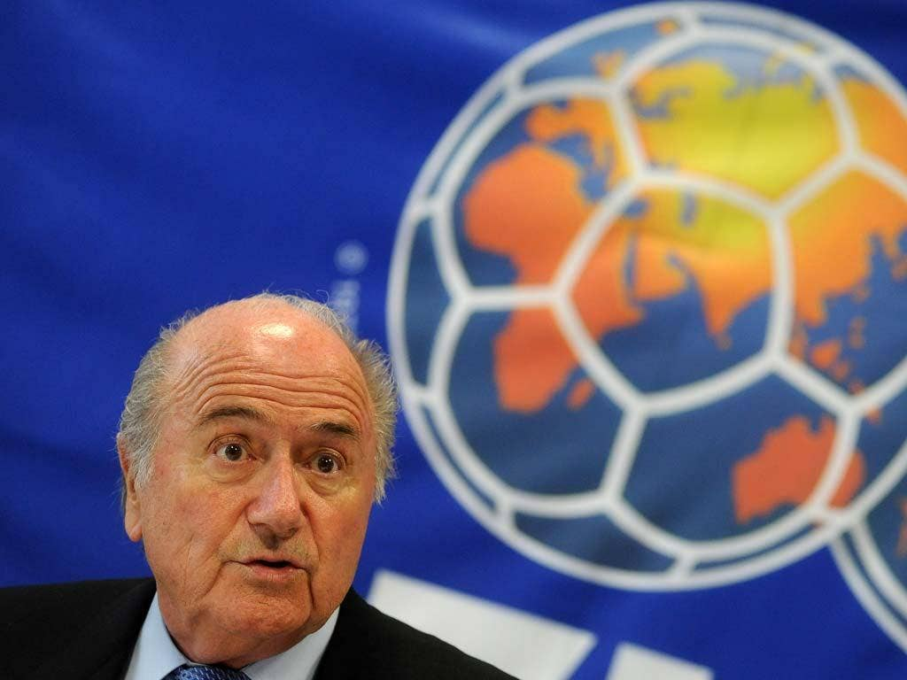 Blatter appeared to suggest a handshake could be used to resolve racist remark disputes
