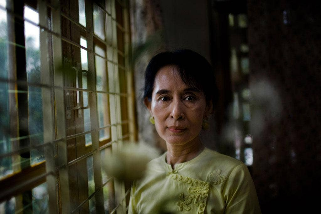 Suffering for the Burmese people: Aung San Suu Kyi