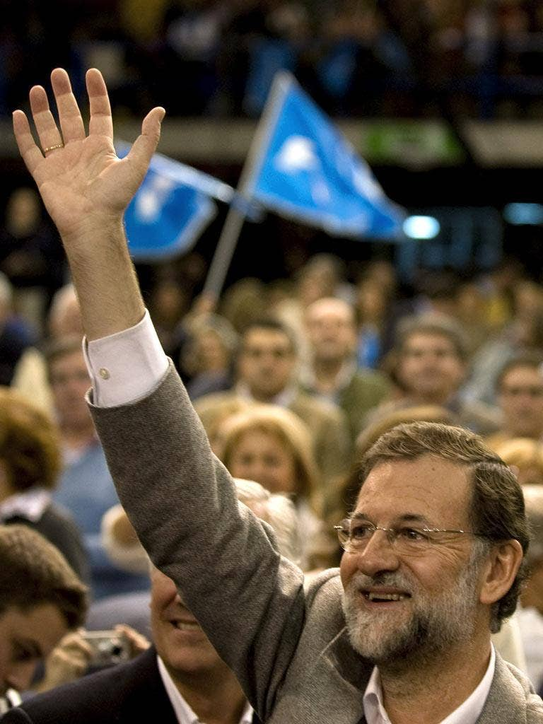 Mariano Rajoy has promised to slash public spending but has refused to offer details of the cuts