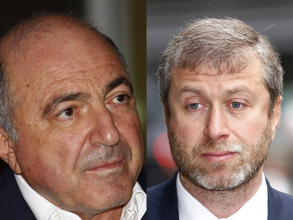 Boris Berezovsky and rival Roman Abramovich