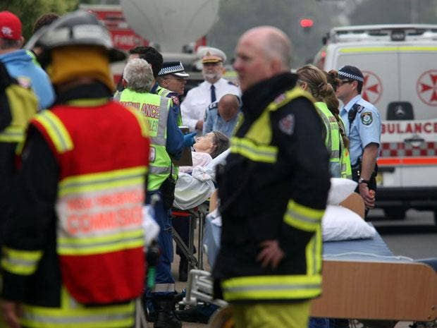 A total of 88 patients were evacuated from the single-storey building in suburban Quakers Hill