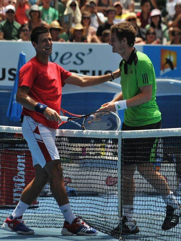 Novak Djokovic (left) and Andy Murray's careers have run in parallel since they were 12 years old
