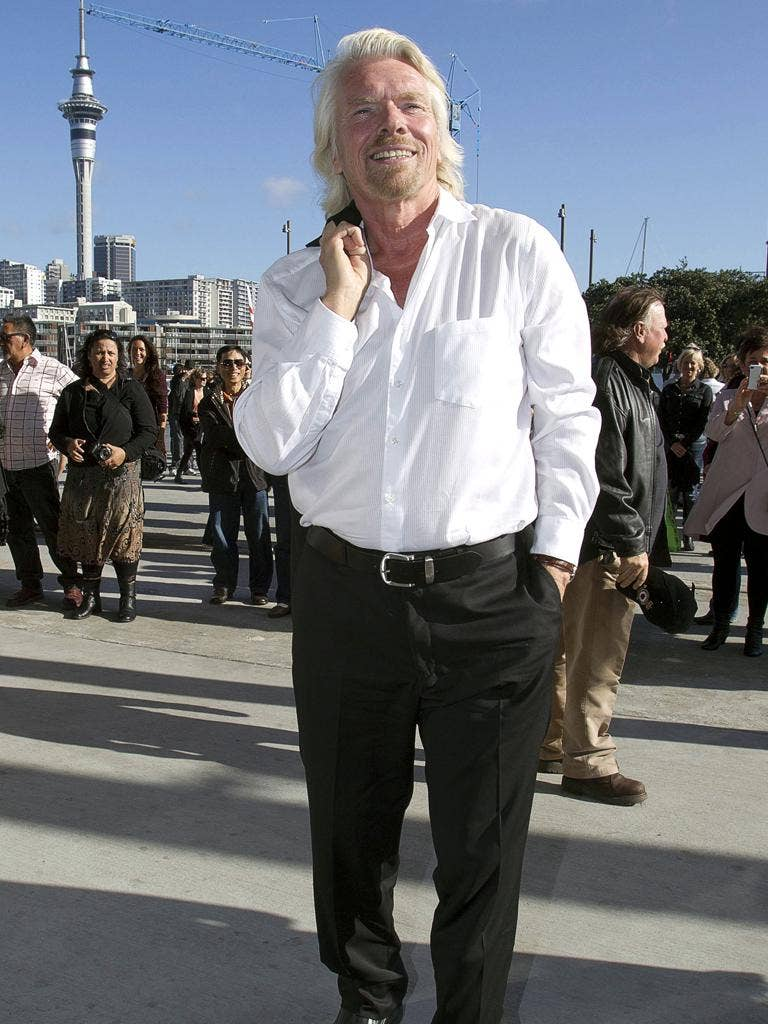 Richard Branson: 'I identify with these young people'