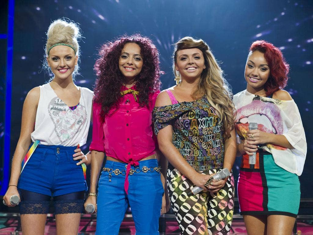 Little Mix, formerly known as Rhythmix, on X Factor