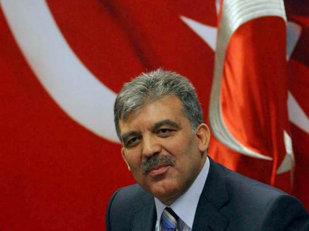 Turkish president Abdullah Gul