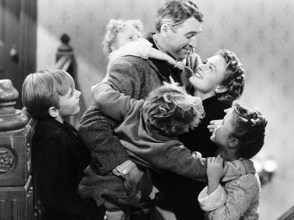 What a cracker: James Stewart in Frank Capra's 'It's A Wonderful Life'