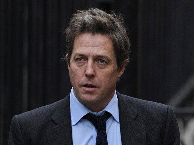 Actor Hugh Grant says he believes his phone was hacked by the Mail on Sunday
