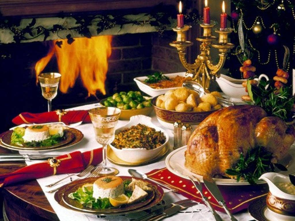 A perfect Christmas dinner
