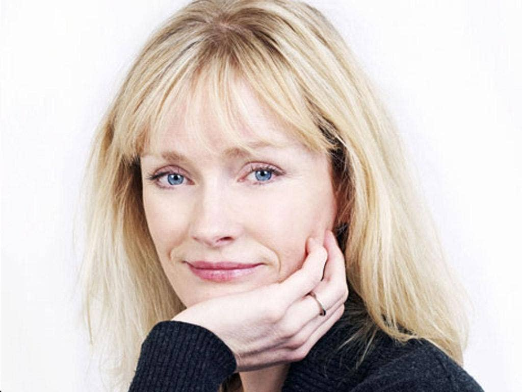 Mum's the word: Claire Skinner read a dark tale from 'Perfect Lives'