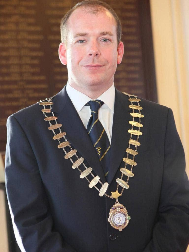 The Mayor of Naas, Darren Scully, said he could not work for black Africans because of their 'attitude'