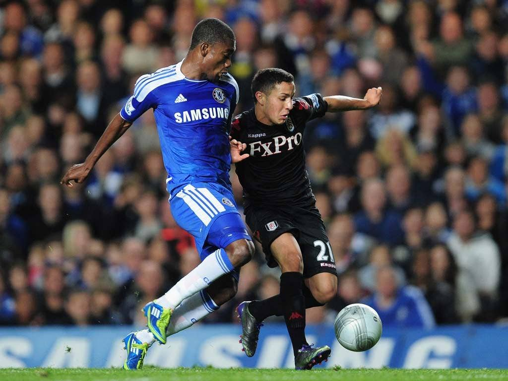 Kerim Frei impressed in the Carling Cup match against Chelsea