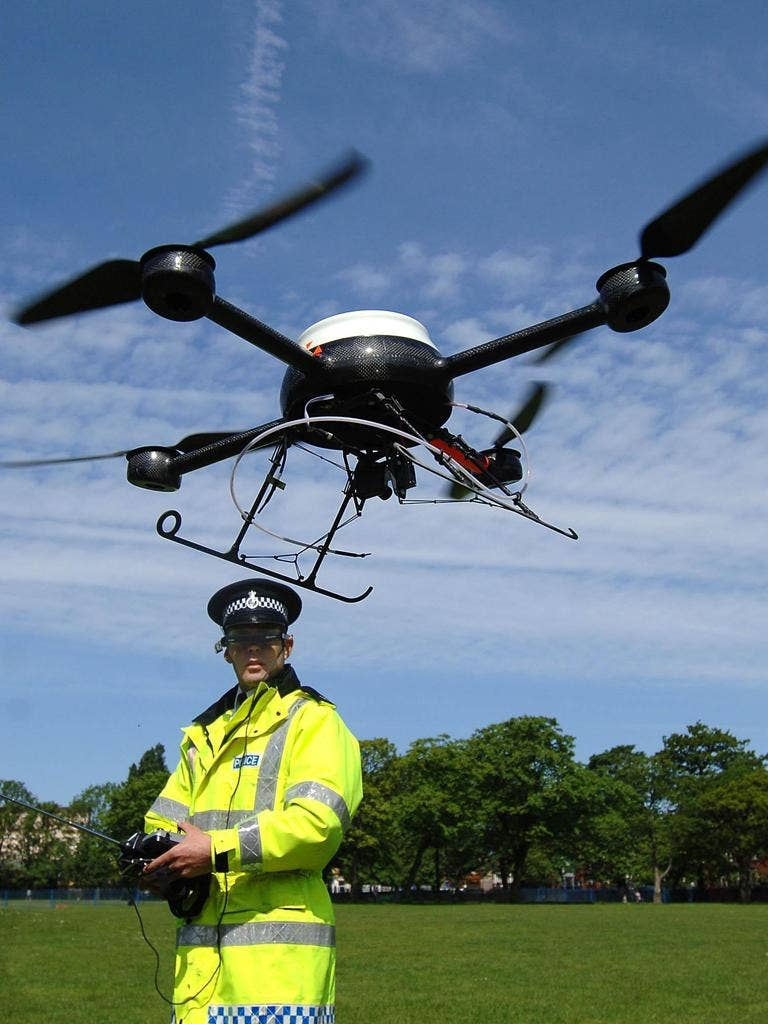 Of the four British police forces known to have trialled drones, only one still uses them