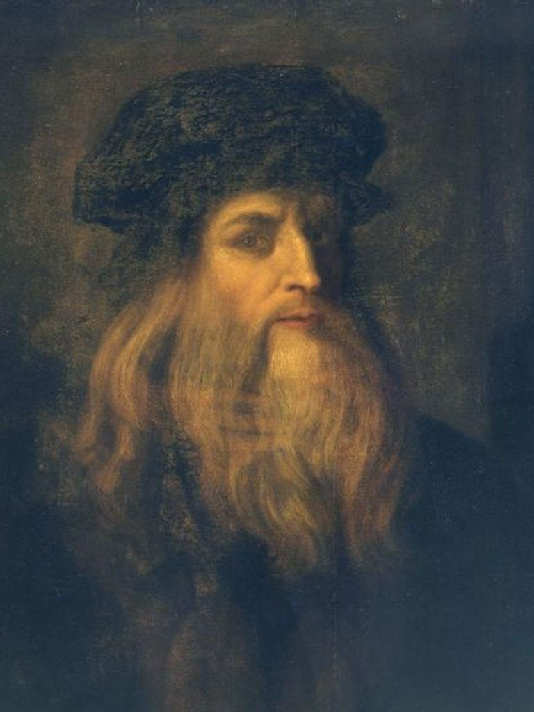 Armchair art: Leonardo da Vinci, self-portrait