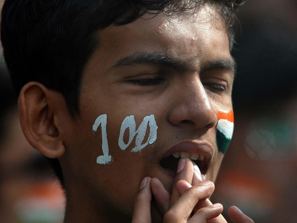 Tendulkar fell just 6 runs short